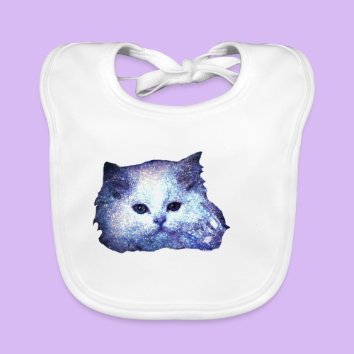 Gatto glitter - Bavaglino