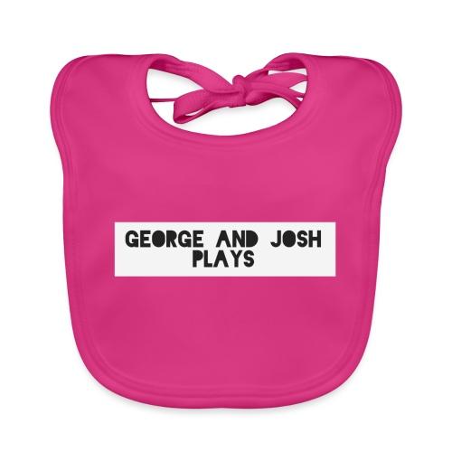 George-and-Josh-Plays-Merch - Baby Organic Bib