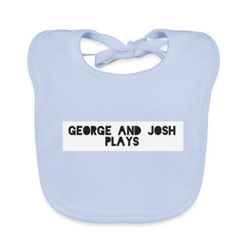 George-and-Josh-Plays-Merch - Organic Baby Bibs