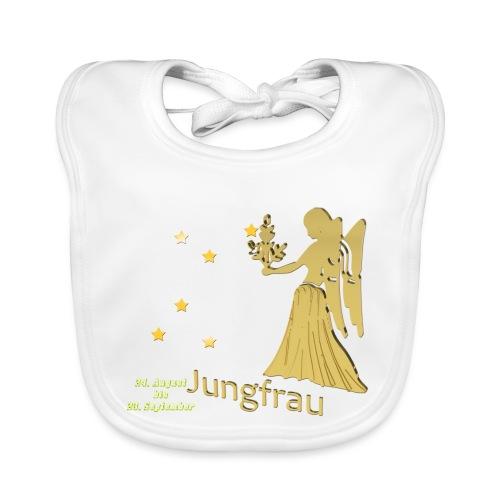 Sternzeichen Jungfrau - Baby Bio-Lätzchen