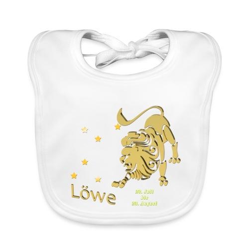 Sternzeichen Löwe - Baby Bio-Lätzchen