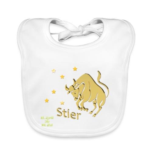 Sternzeichen Stier - Baby Bio-Lätzchen
