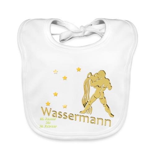 Sternzeichen Wassermann - Baby Bio-Lätzchen