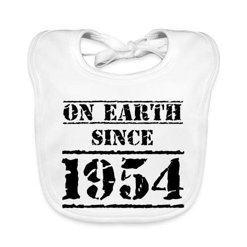 on Earth since 1954 65 Geburtstag Happy Birthday - Baby Organic Bib