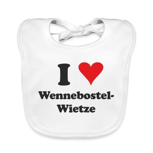 I Love Wennebostel-Wietze - Baby Bio-Lätzchen