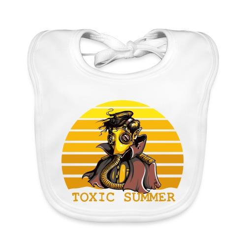 Toxic Summer - Babero de algodón orgánico para bebés
