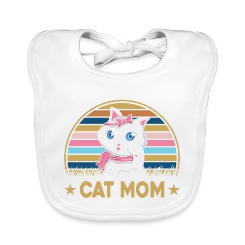 CAT MOM - Bavoir bio Bébé