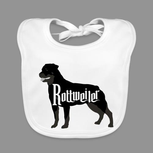 Rottweiler - Baby Organic Bib