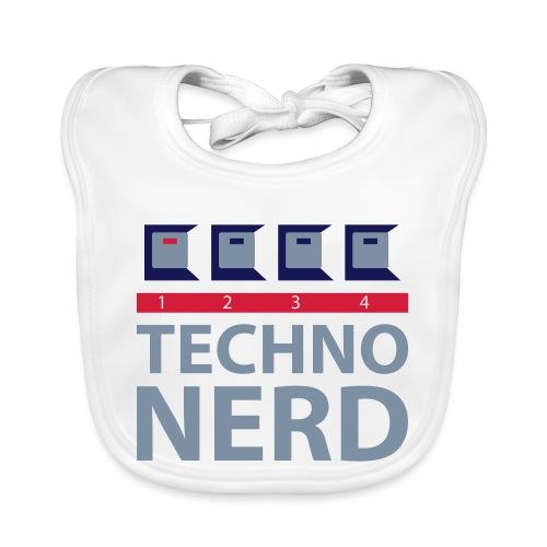 Techno Nerd - Baby Organic Bib