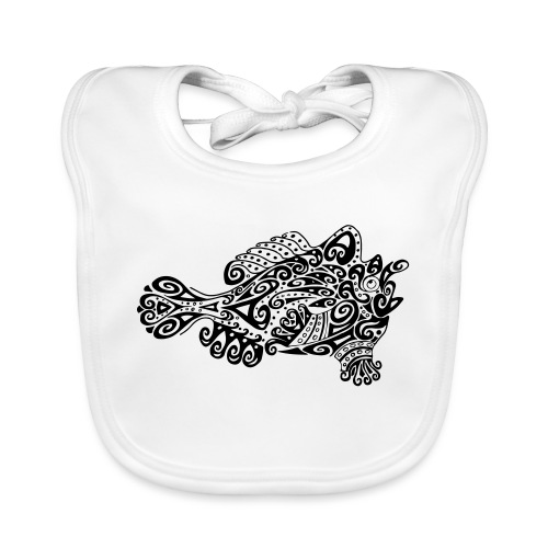 Little cute frogfish - Organic Baby Bibs