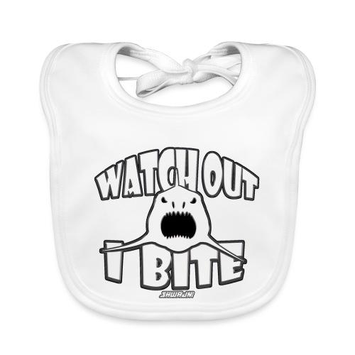 Watch out I bite - Bio-slabbetje voor baby's