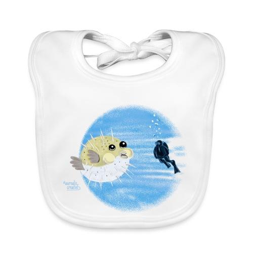 Puffer fish - T-shirts - Bavoir bio Bébé
