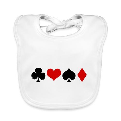 poker2 - Bavoir bio Bébé