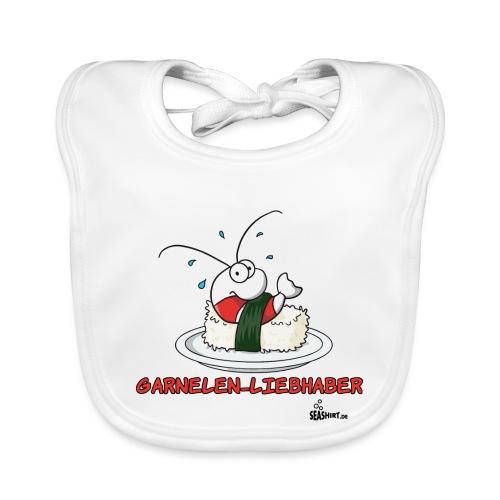garnelenliebhaber - Baby Bio-Lätzchen