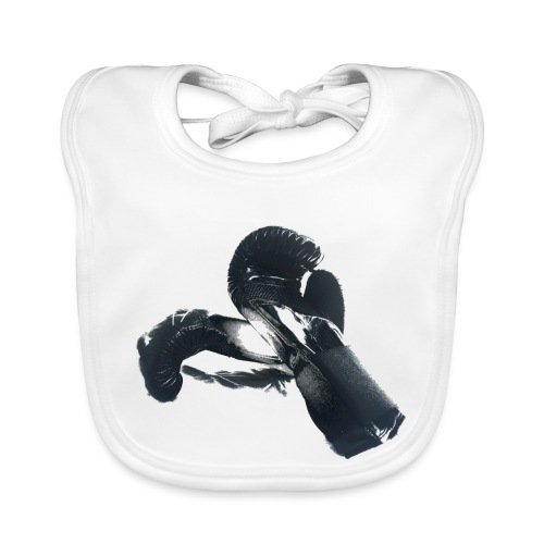 boxing gloves (Saw) - Baby Organic Bib