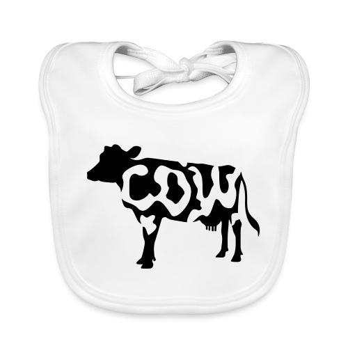 Cow black and white - Bio-slabbetje voor baby's