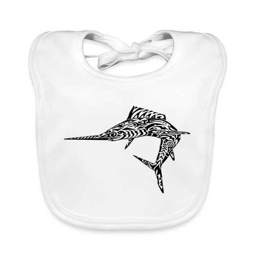 The Black Marlin - Organic Baby Bibs