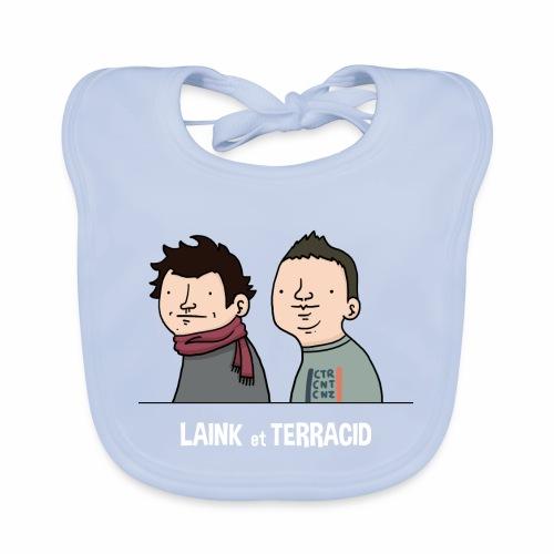 Laink et Terracid old - Bavoir bio Bébé
