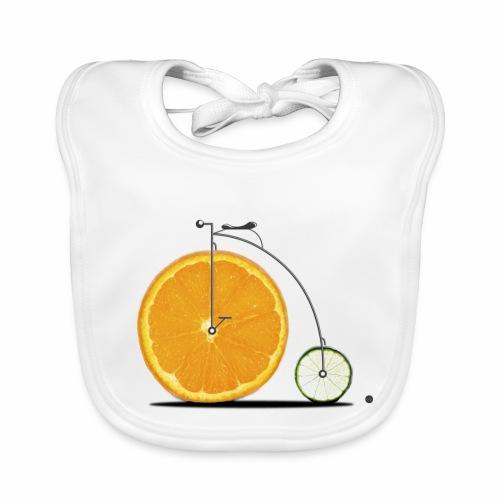 Fruit Bicycle - Baby Organic Bib
