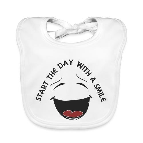 Zacznij dzień z uśmiechem - Ekologiczny śliniaczek