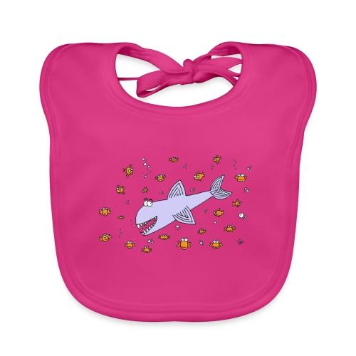 haai tr2 - Bio-slabbetje voor baby's
