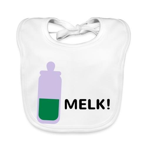 Grappige Rompertjes: Melk - Bio-slabbetje voor baby's