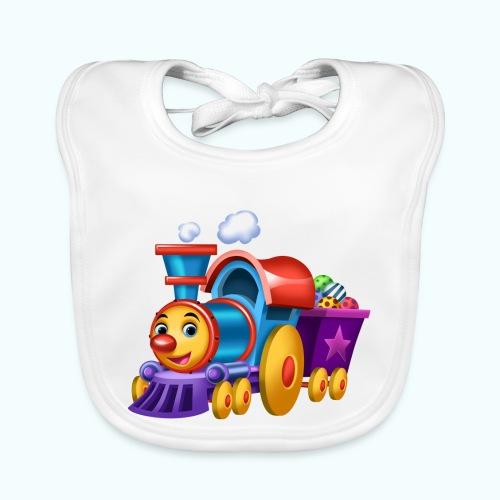 Arthur Little Train Collection - Baby Organic Bib