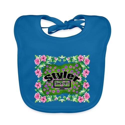 Styler Bloemen Design - Bio-slabbetje voor baby's