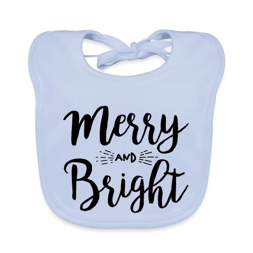 Merry and Bright - Baby Bio-Lätzchen