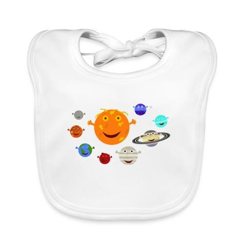 the solar system 1 png - Baby Organic Bib