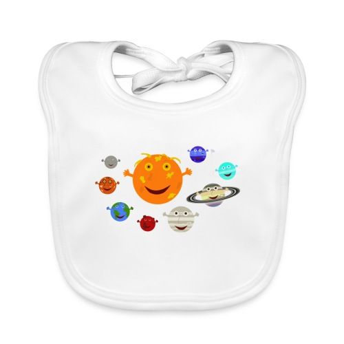 the solar system 1 png - Organic Baby Bibs