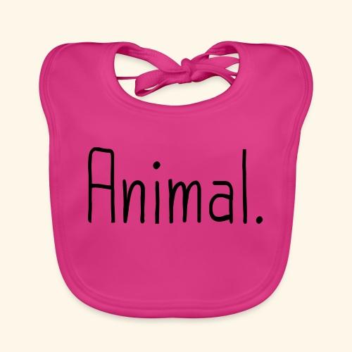Tier Animal Tierliebe Tierschutz - Baby Bio-Lätzchen