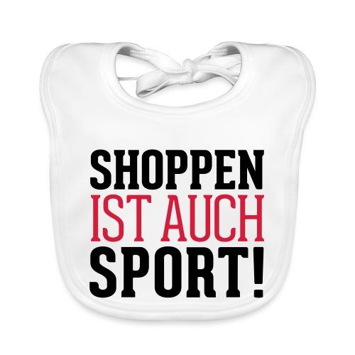 Shoppen ist auch Sport! - Baby Bio-Lätzchen