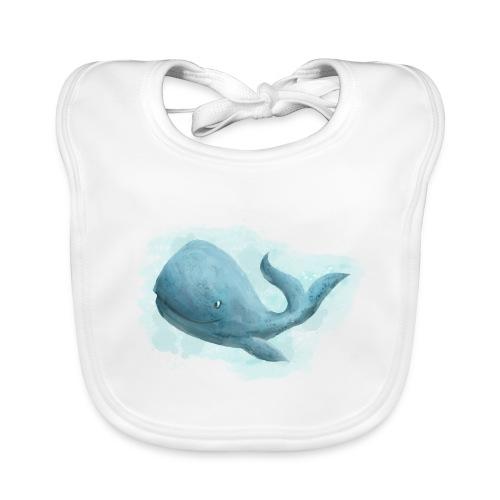 Wal Whale - Baby Bio-Lätzchen