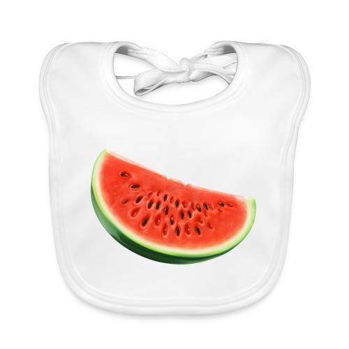 Watermelon - bio - Bio-slabbetje voor baby's