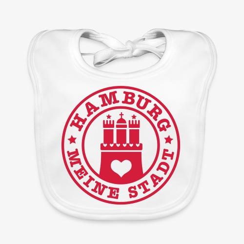 HAMBURG MEINE STADT Wappen 1c - Baby Bio-Lätzchen