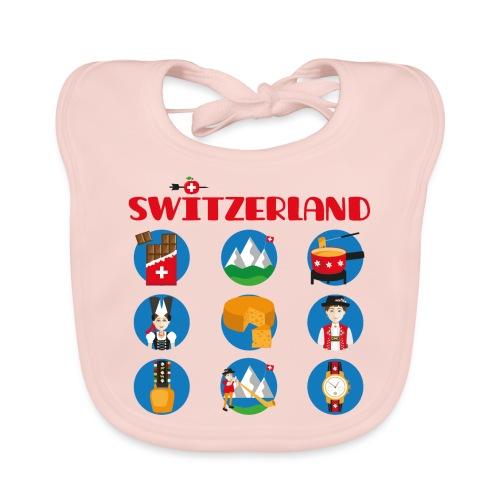 Switzerland - Baby Bio-Lätzchen