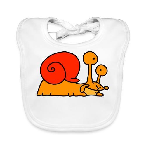 Schnecke Nr 97 von dodocomics - Baby Bio-Lätzchen