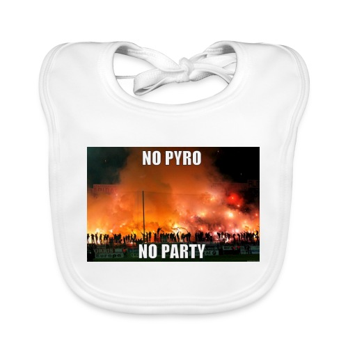 #NoPyroNoParty - Ekologisk babyhaklapp