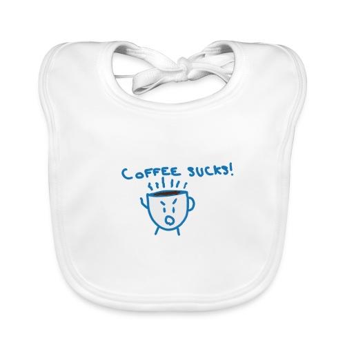 Coffee Sucks - Bavoir bio Bébé