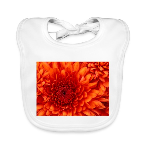 Chrysanthemum - Babero de algodón orgánico para bebés
