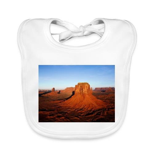 Desert - Babero de algodón orgánico para bebés
