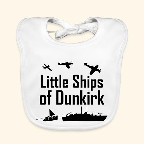 Little Ships of Dunkirk - Bavoir bio Bébé