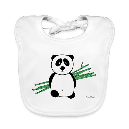 Lolly le panda - Bavoir bio Bébé