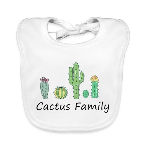 Cactus family - Baby Bio-Lätzchen