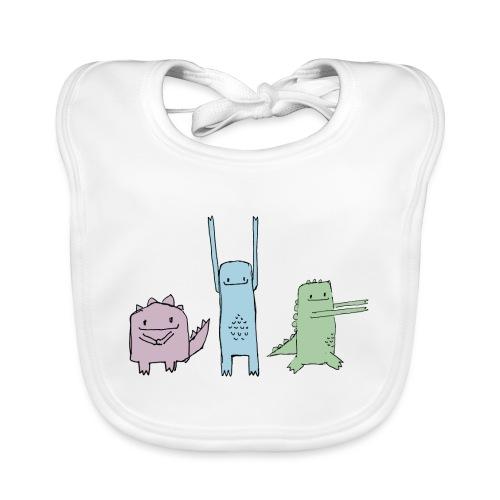 Little Monster Friends - Baby Bio-Lätzchen