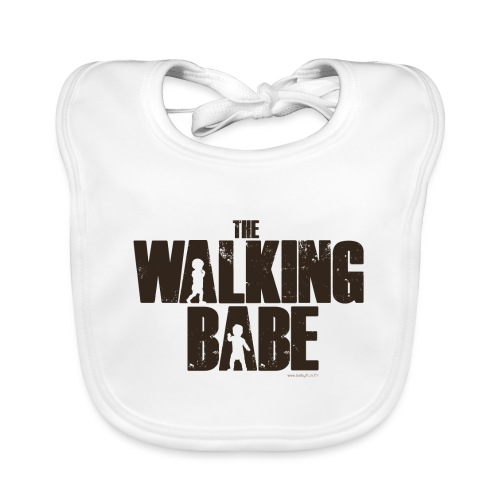The Walking Babe - Bavoir bio Bébé