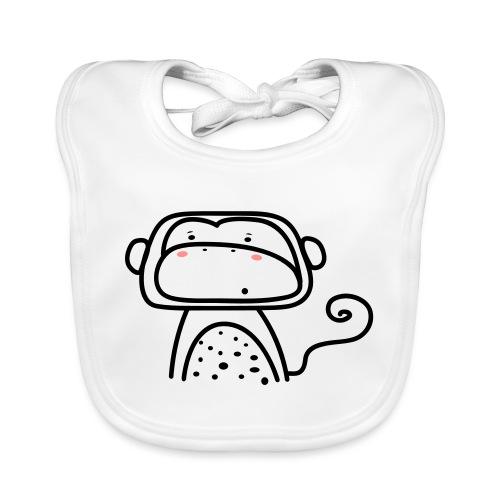 Affe - Baby Bio-Lätzchen