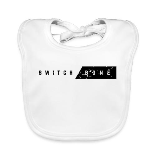 Switchbone_black - Bio-slabbetje voor baby's