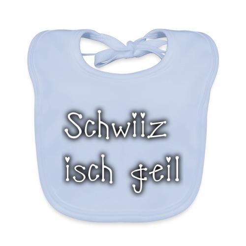 Schweiz ist geil png - Baby Bio-Lätzchen